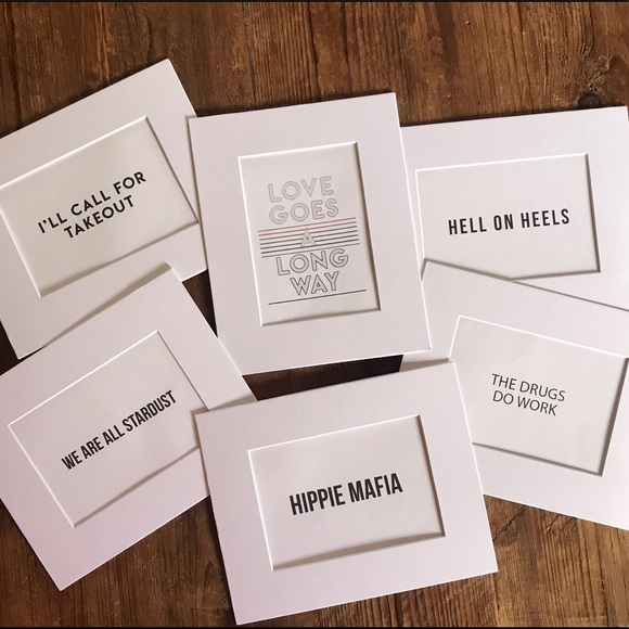 Honorable Citizens Other - NEW 8x10 matted prints ready to be framed b&w